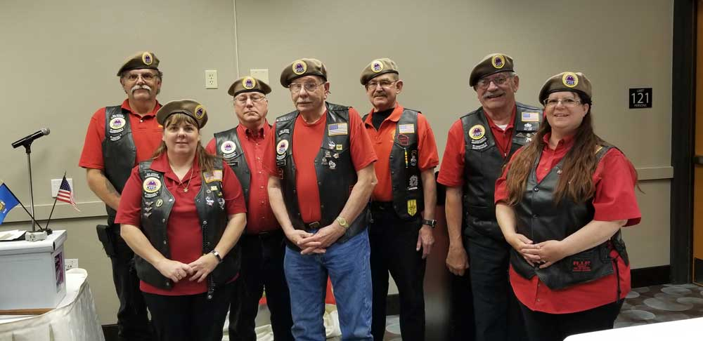 amvets riders wisconsin 2020 officers