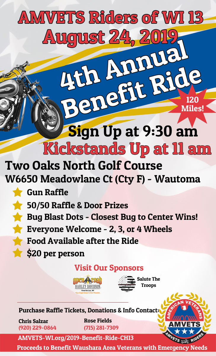 fb 2019 benefit ride