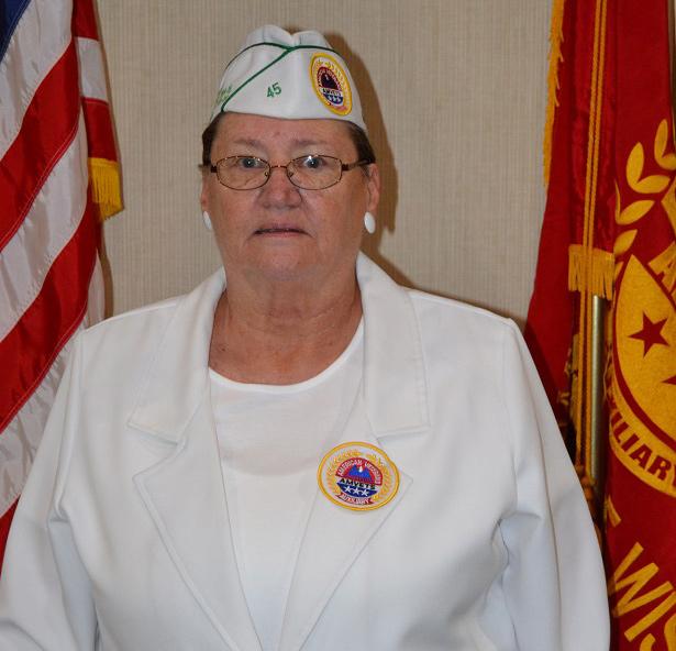 Auxiliary 1051 President Deborah Suchon