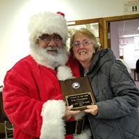 Santa and Kim Vet of Year FVVC