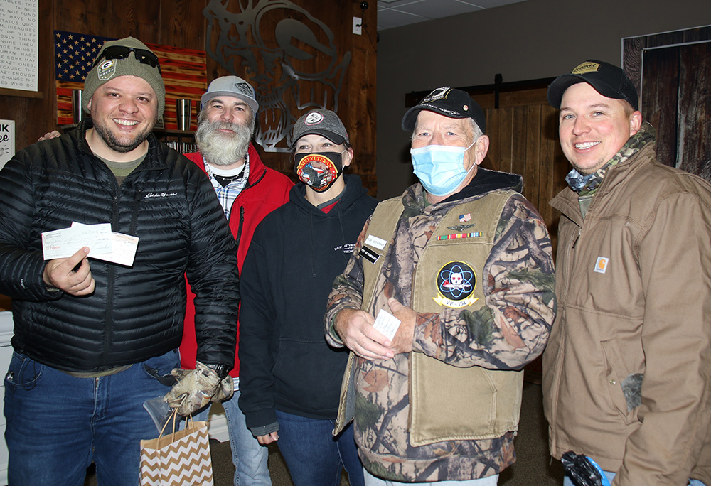 Cmdr Rick with Desert Vets at Comfort Kit Event OCT 31 2020